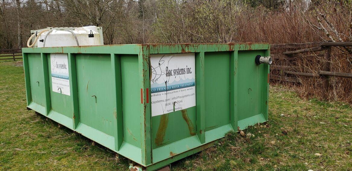 FOR SALE! Weir Bin/Mobile Sediment Pond